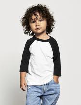 Toddler 3/4 Sleeve Baseball Tee