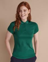 Ladies Stretch Polo Shirt + Wick Finish