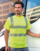 Hi-Viz Broken Reflective T-Shirt EN ISO 20471