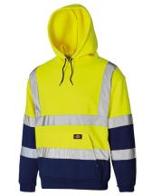 Two Tone High Visible Hoody