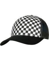 Checkerboard Retro Trucker