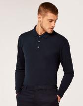 Men`s Piqué Polo Shirt Long Sleeve