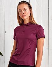 Womens Coolchecker Piqué Polo