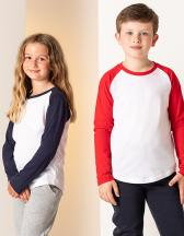 Kids` Long Sleeved Baseball T