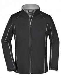 Ladies` Zip-Off Softshell Jacket